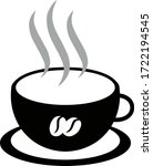 coffee cup flat vector icon