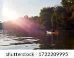 Kayaking In The Danube River At ...