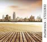 china shanghai bund  lujiazui... | Shutterstock . vector #172222832