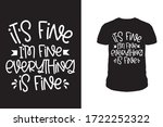 it's fine i'm fine everything...   Shutterstock .eps vector #1722252322