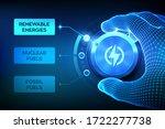 energy industry sectors.... | Shutterstock .eps vector #1722277738