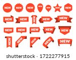 new arrival stickers and labels ... | Shutterstock .eps vector #1722277915