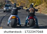 Two Riders On Customized...