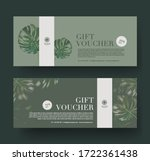 gift voucher template promotion ...   Shutterstock .eps vector #1722361438