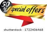 special offer banner high... | Shutterstock .eps vector #1722406468