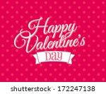 happy valentine's day | Shutterstock .eps vector #172247138