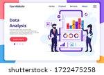 data analysis concept  people... | Shutterstock .eps vector #1722475258