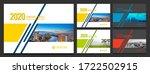 cover design for annual report... | Shutterstock .eps vector #1722502915