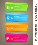 modern text box template ...   Shutterstock .eps vector #1722558652