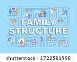 family structure word concepts...