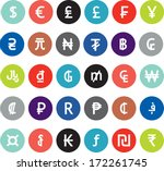 vector currency symbols  world...