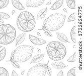 seamless vector pattern of... | Shutterstock .eps vector #1722624775