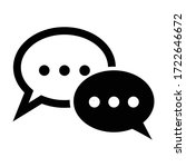 communication icons with white... | Shutterstock .eps vector #1722646672