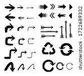 arrows pointer collection set... | Shutterstock .eps vector #1722689332