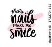 vector handwritten lettering... | Shutterstock .eps vector #1722704182