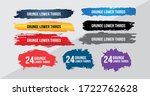 news lower thirds pack vector.... | Shutterstock .eps vector #1722762628