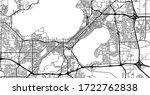 urban vector city map of... | Shutterstock .eps vector #1722762838