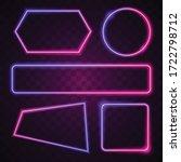 vector of pink and purple... | Shutterstock .eps vector #1722798712