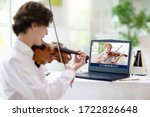 Violin Lesson Online. Teacher...