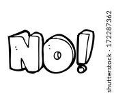 cartoon no symbol | Shutterstock . vector #172287362