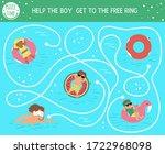 Summer Maze For Children....