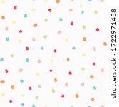 sparse confetti dotty paper...   Shutterstock .eps vector #1722971458