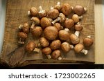 Champignon Mushrooms On A...