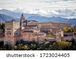 A View Of Alhambra Palace In...