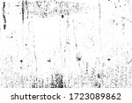 grunge old texture in black and ... | Shutterstock .eps vector #1723089862