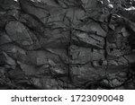 Black Rock  Stone  Textured....