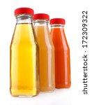 baby food  juices  in glass...   Shutterstock . vector #172309322
