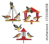 Winter Bird Feeder With...