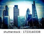 Skyscrapers In London Hdr  Uk