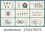 infographic design set can be... | Shutterstock . vector #1723178275