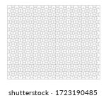 set of five hundred puzzle... | Shutterstock .eps vector #1723190485