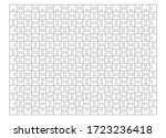 set of three hundred puzzle... | Shutterstock .eps vector #1723236418