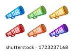 go team triangle banner. go...   Shutterstock .eps vector #1723237168
