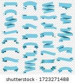 blue ribbon isolated...   Shutterstock .eps vector #1723271488