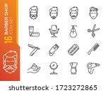barber shop elements   minimal...   Shutterstock .eps vector #1723272865