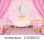 bathroom in the castle of the...