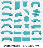 tag and ribbon isolated...   Shutterstock .eps vector #1723309795