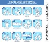 personal hygiene  disease... | Shutterstock .eps vector #1723353898