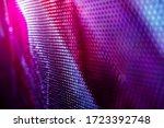 Closeup led blurred screen. led ...