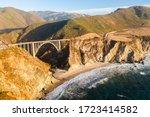 Big Creek Bridge In Big Sur ...