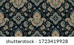seamless pattern based on... | Shutterstock .eps vector #1723419928