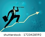business vector illustration of ... | Shutterstock .eps vector #1723428592