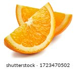 Orange fruit. orange slice...