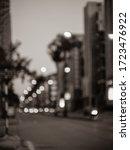 Blur Traffic On Urban Street At ...