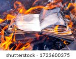Burning Book. The Book Is On...