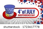 happy independence day 4 th... | Shutterstock .eps vector #1723617778